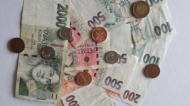 české měna